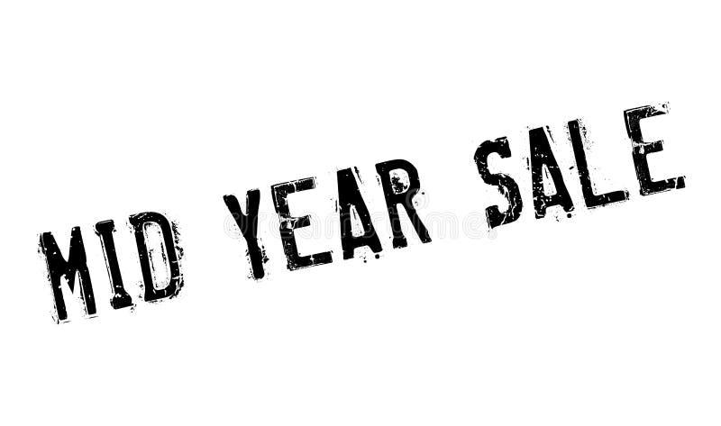 Mittlerer Jahr-Verkaufsstempel lizenzfreie abbildung