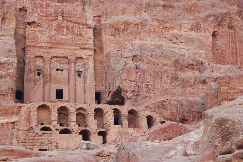Mittlerer Osten, PETRA lizenzfreies stockfoto