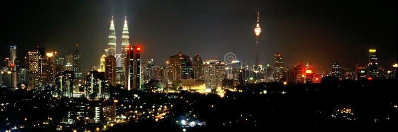 mittstad Kuala Lumpur royaltyfri bild