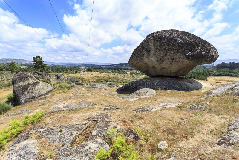 Mityczny Bell kamień St Gens obrazy stock