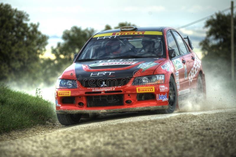 Download Mitzubishi Lancer Evo IX Rally Car Editorial Image - Image: 27816500