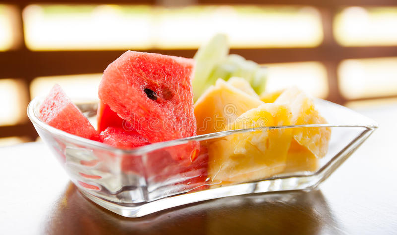 Mix asian fruit royalty free stock photo