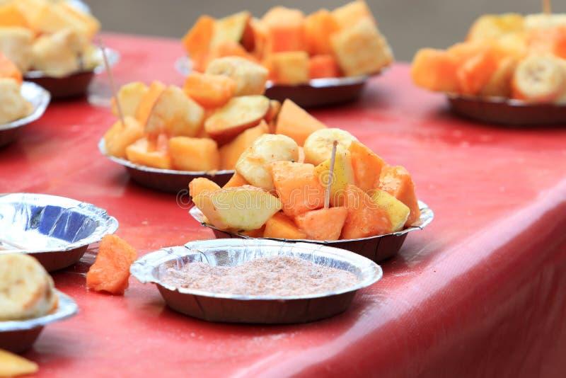 Mix fruit dish royalty free stock photos