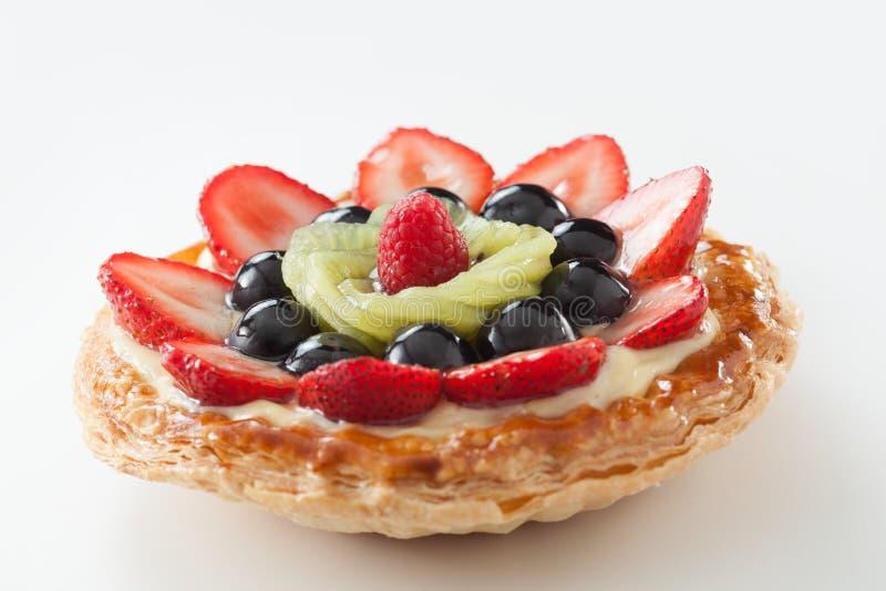 Mix fruit tart royalty free stock photos