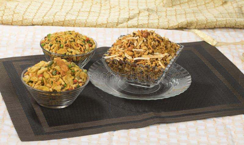 Mix Namkeen. Indian Salty Food Mix Namkeen Food stock photos