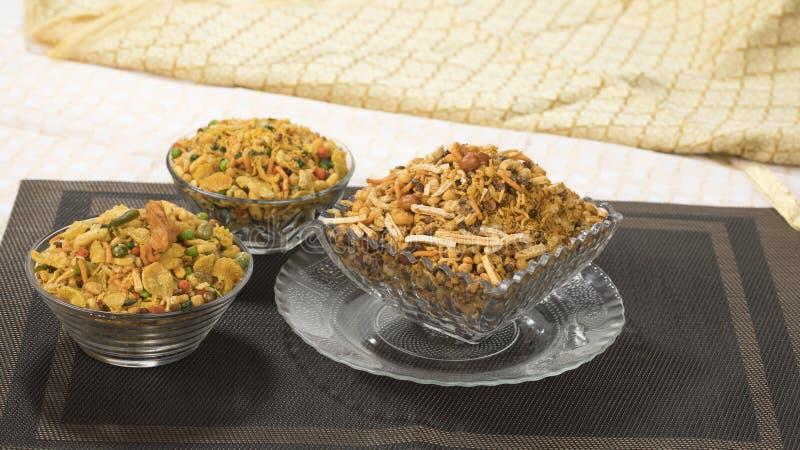 Mix Namkeen. Indian Salty Food Mix Namkeen Food stock images