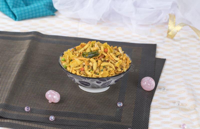 Mix Namkeen. Indian Salty Food Mix Namkeen Food royalty free stock image
