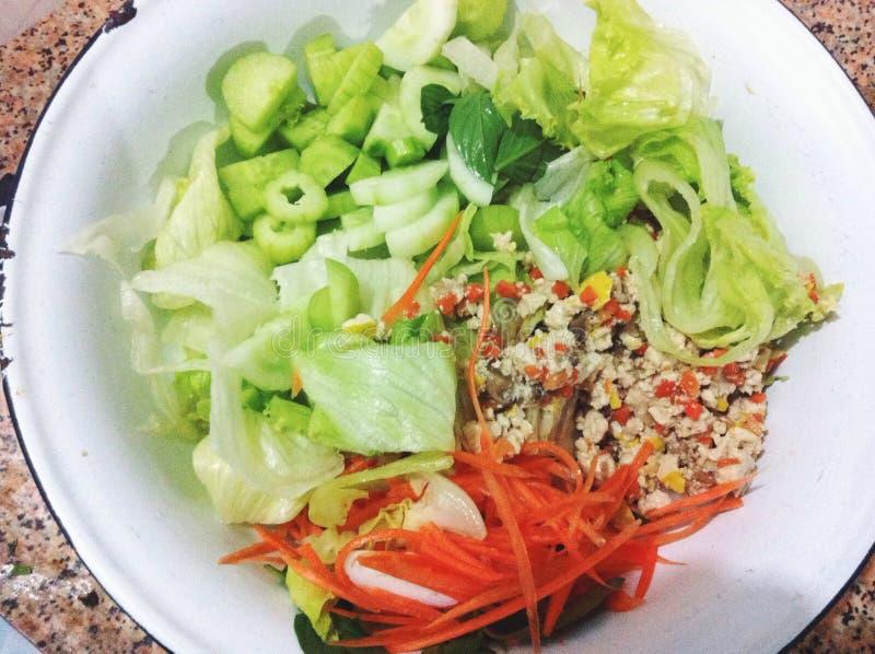 Mix salad stock images