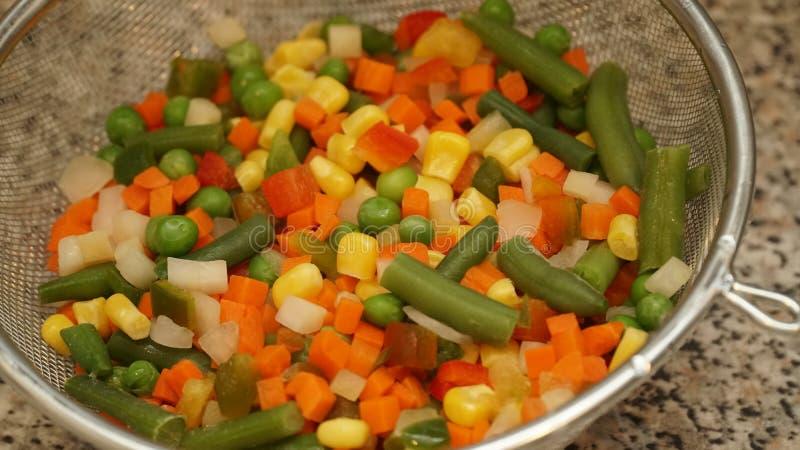 Mix of vegetables. Vegan food royalty free stock photo