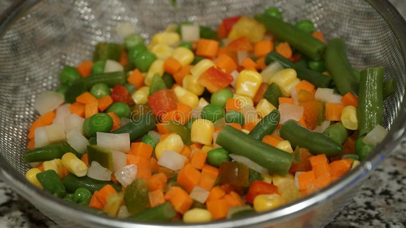Mix of vegetables. Vegan food stock photography
