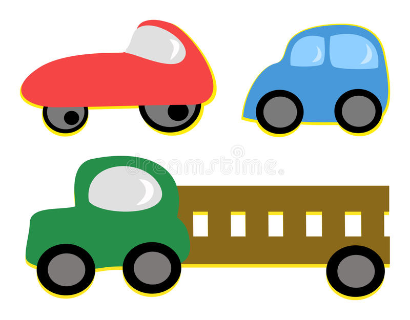 Download Mix of Vehicles stock vector. Illustration of wheels - 21305455