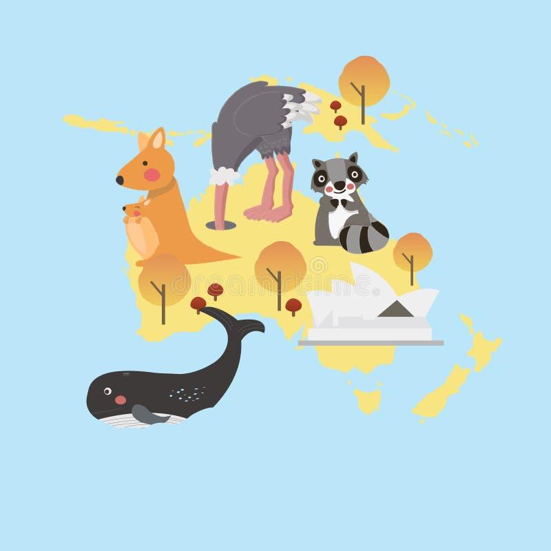 Mixed animal origami vector illustration vector illustration