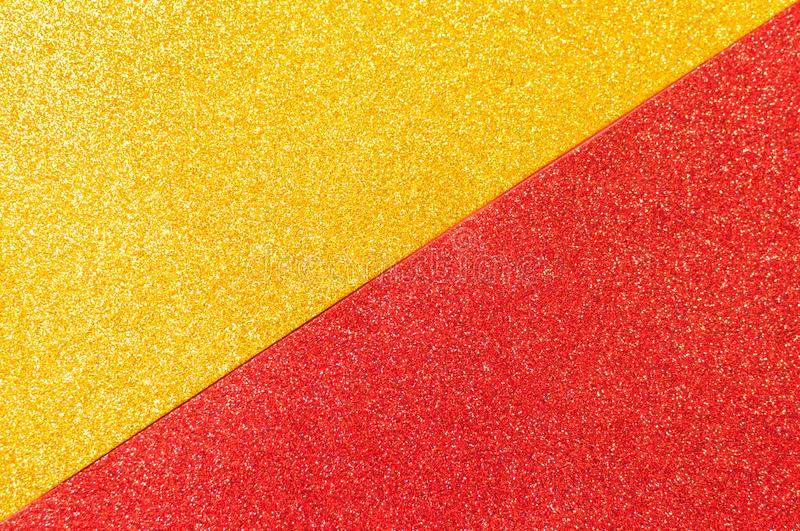 Mixed background glitter texture red and gold abstract background isolated. Mixed glitter texture red and gold abstract background isolated royalty free stock photos