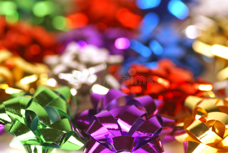 Download Mixed bows stock image. Image of decoration, white, purple - 3547315