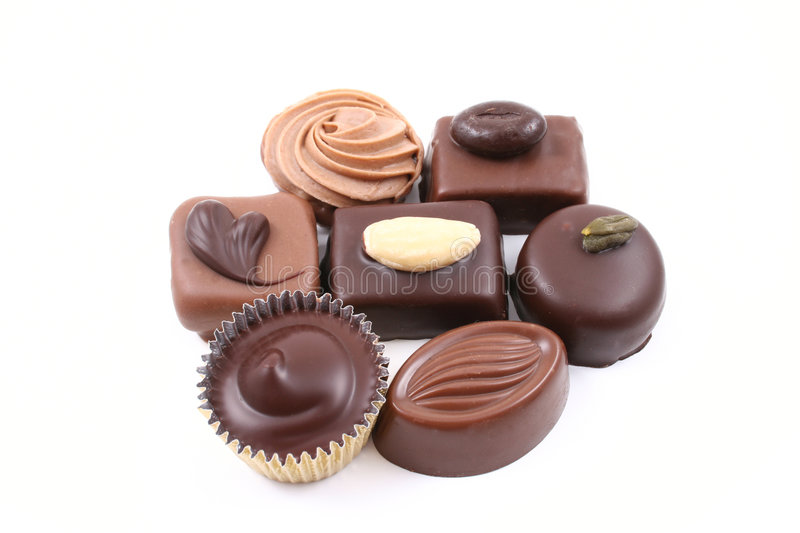 Download Mixed chocolates stock image. Image of gourmet, unhealthy - 2316803
