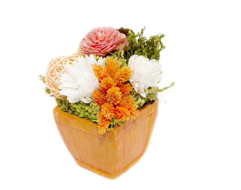 Download Mixed Colorful Dry Flower Arrangement Stock Photo - Image: 26084220