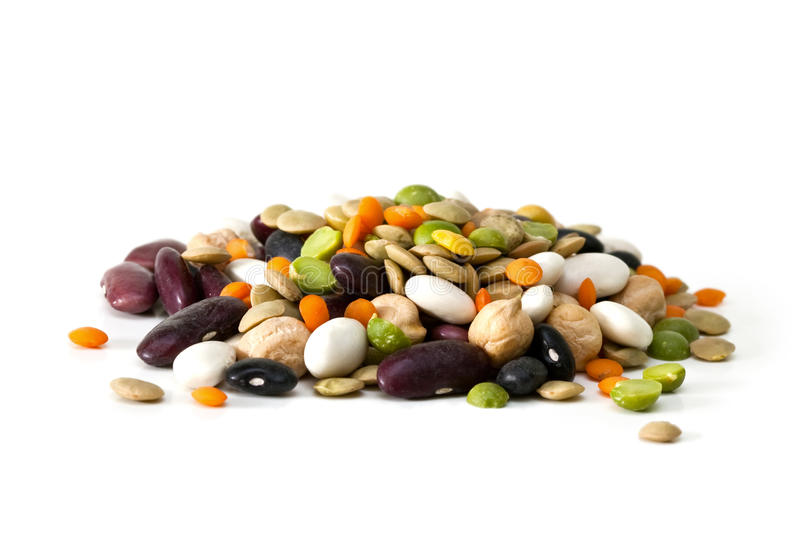 Download Mixed dried beans stock photo. Image of lima, choice - 14331692