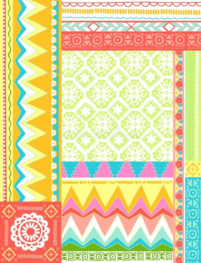 Download Mixed Folkloric Design Vector Illustration Stock Vector - Illustration: 6660395