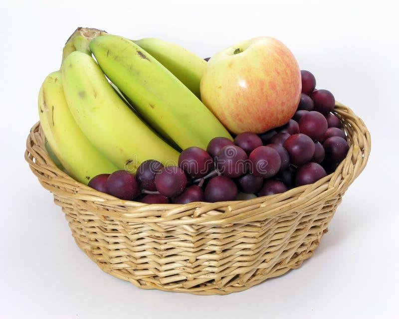 Download Mixed Fruit stock photo. Image of weave, purple, basket - 79538