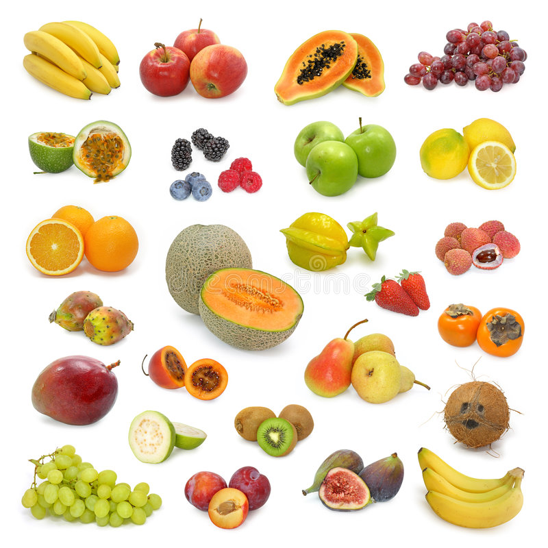 Free Mixed Fruits Collection 2 Stock Photography - 4777112