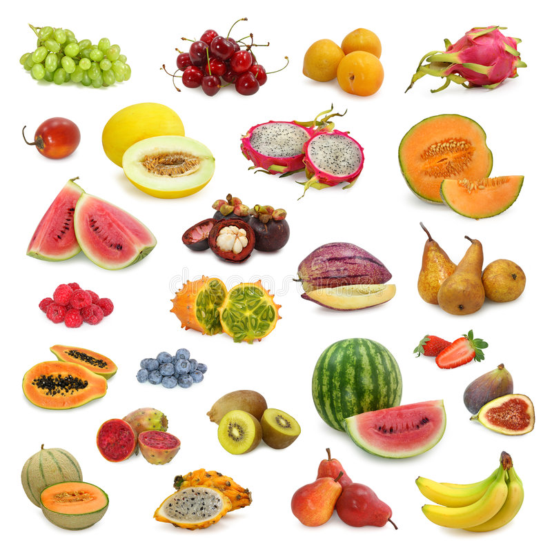 Free Mixed Fruits Collection Royalty Free Stock Photo - 5276055