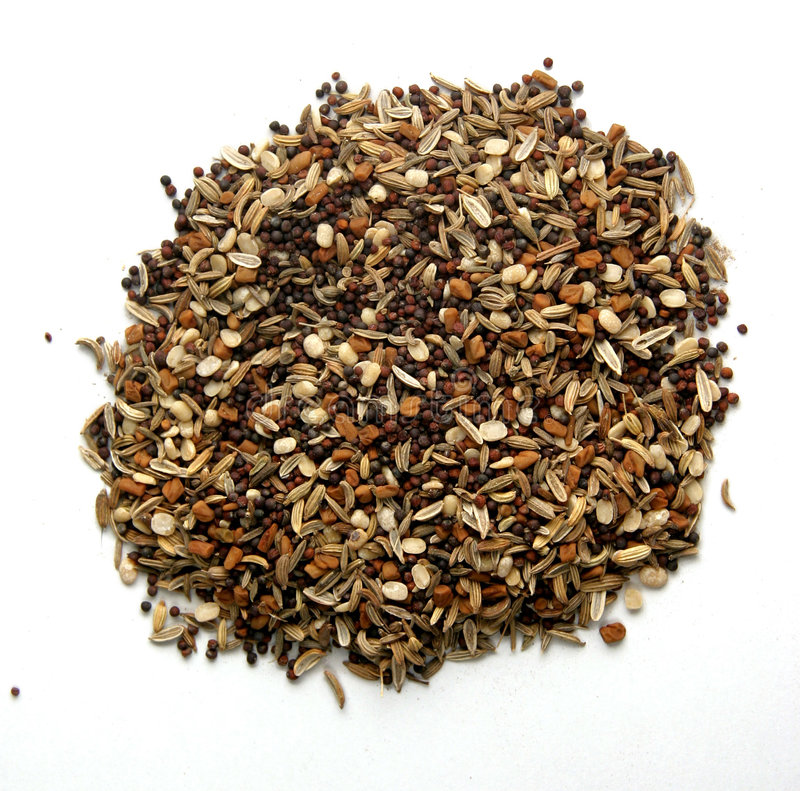 Mixed Herb & Spice stock image