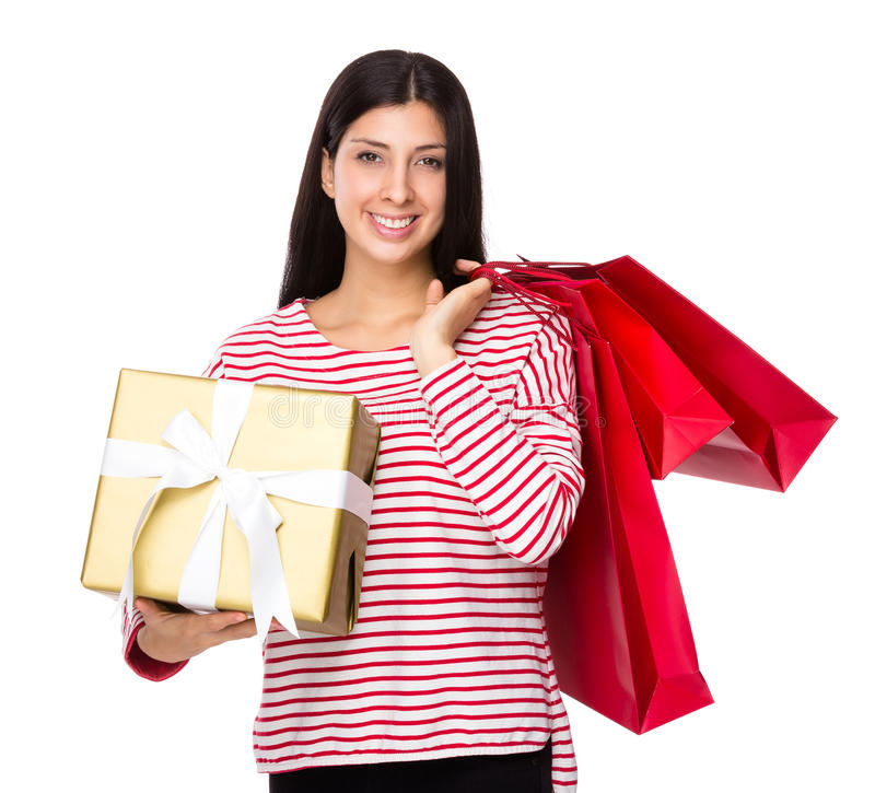 Indian Lady Shopping Bag Stock Photos - Download 330 Royalty Free ...