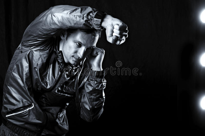 Download Mixed martial arts. stock photo. Image of male, muay - 23331564