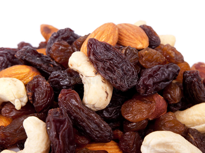 Download Mixed nuts and raisins stock image. Image of seed, peanut - 11193185