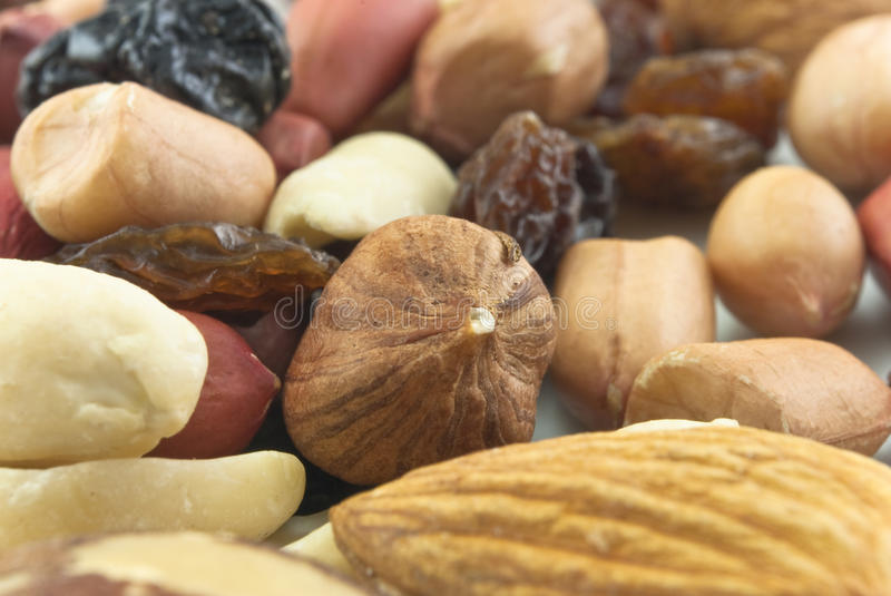Download Mixed Nuts And Raisins Closeup Royalty Free Stock Image - Image: 9433496