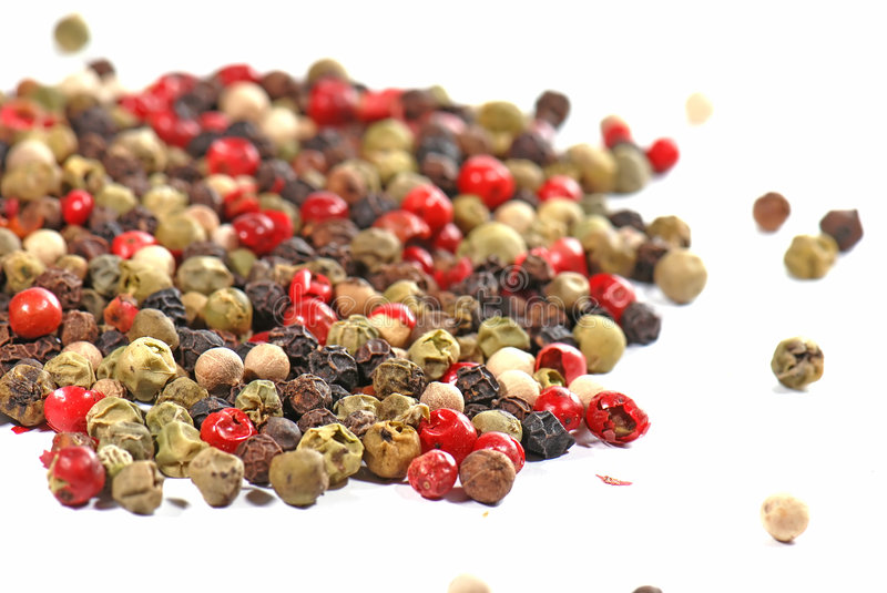 Mixed pepper stock images