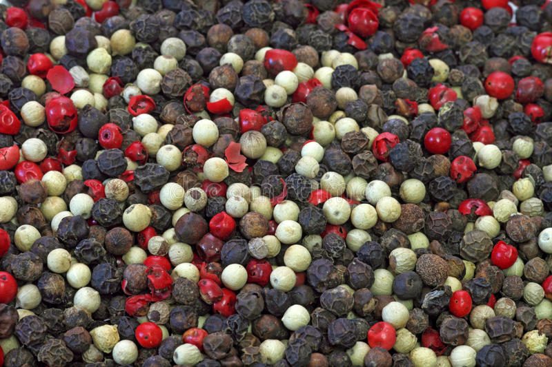 Mixed Pepper royalty free stock image