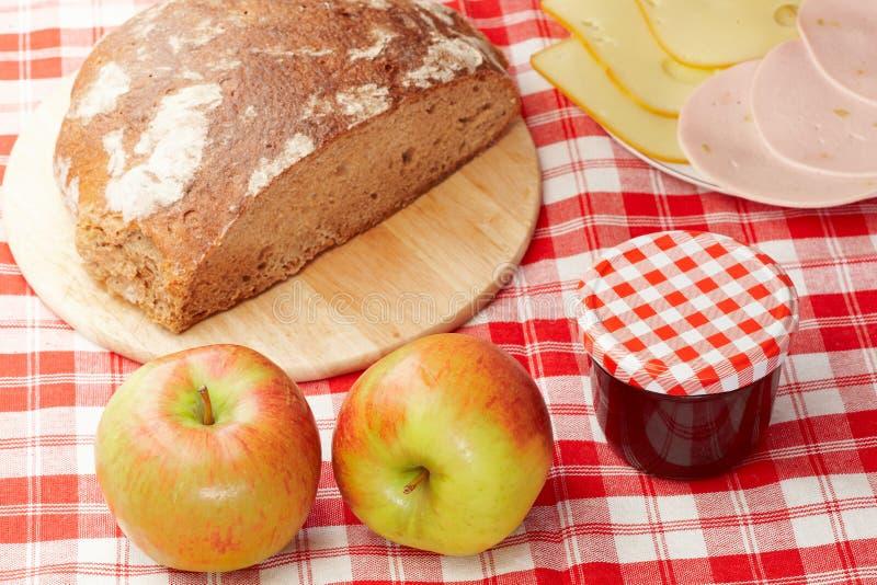 Download Mixed picnic stock photo. Image of pork, salami, breakfast - 15516834