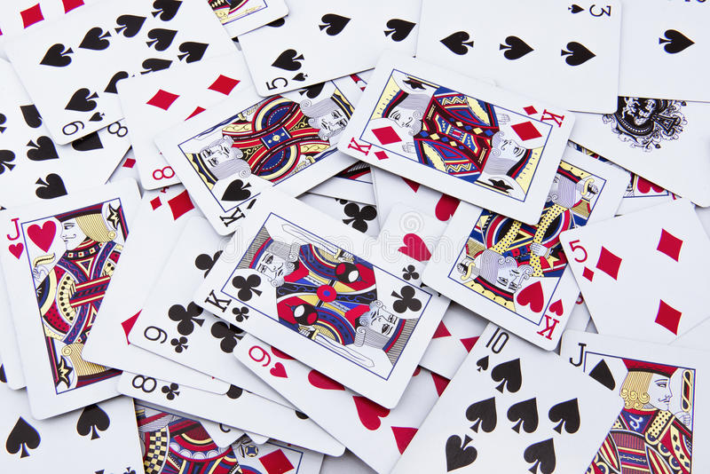 Download The Mixed Poker Cards, Gambling Card Stock Image - Image: 38104681