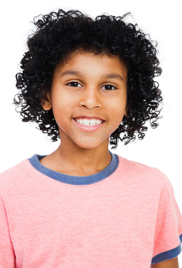 Free Mixed Race Boy Smiling Stock Photography - 9453332