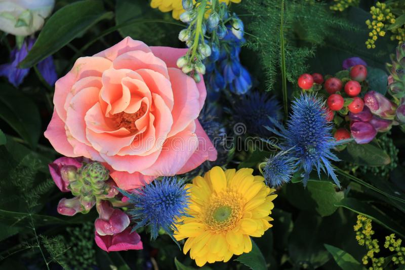 Mixed spring bouquet royalty free stock photography