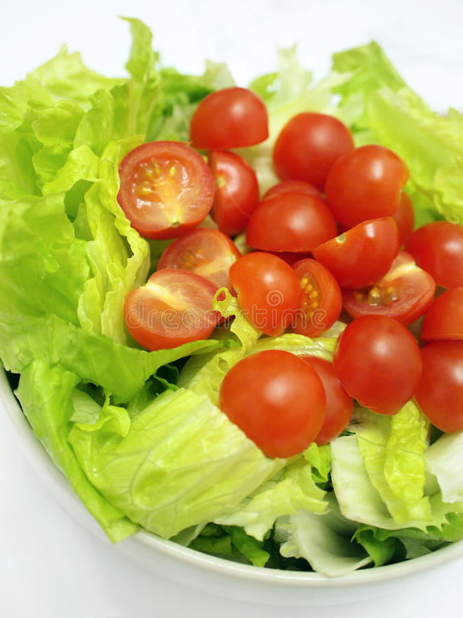 Mixed vegetables salad royalty free stock image