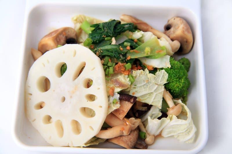 mixed vegetarian food