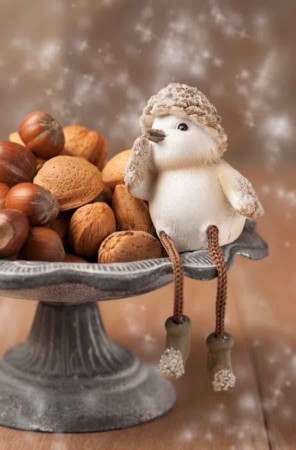 Free Mixed Whole Nuts Stock Photo - 25240740