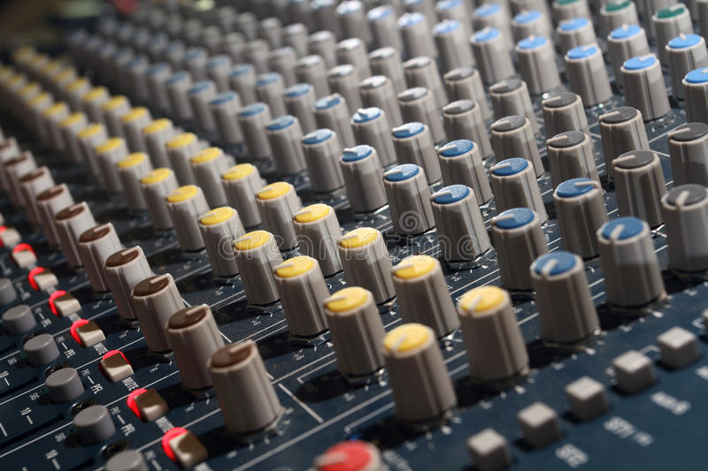 Mixer stock photo