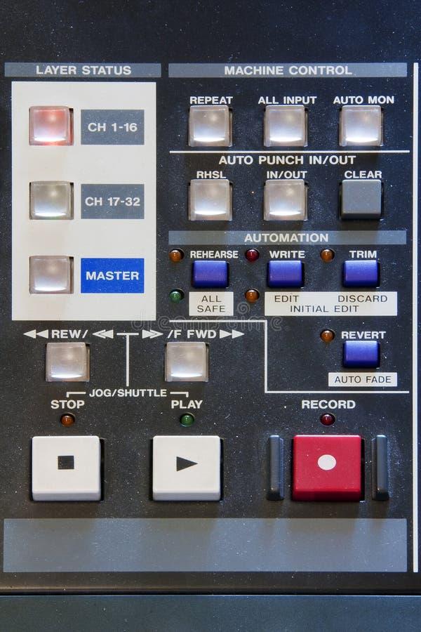 Mixer - Radio Equipment Stock Images