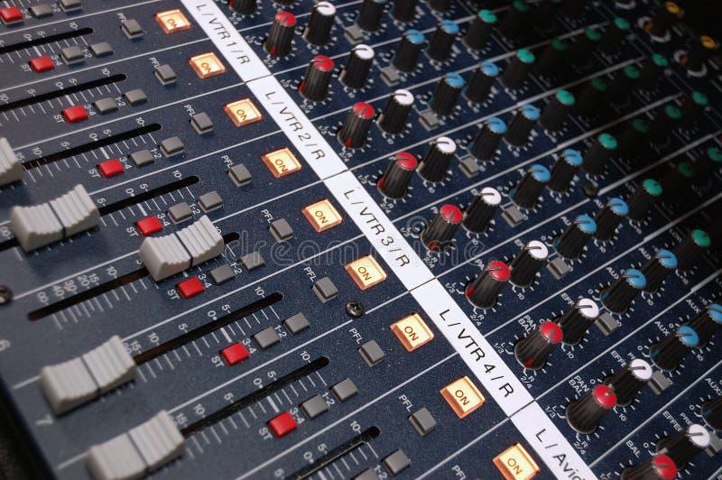mixer studio στοκ εικόνες
