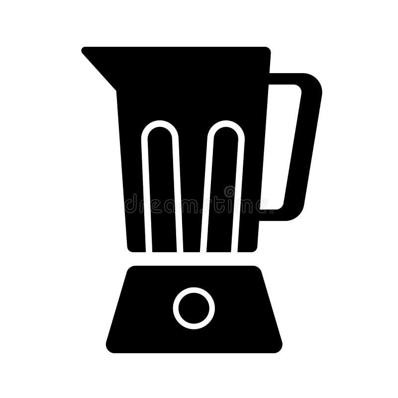 Mixer vectorpictogram vector illustratie