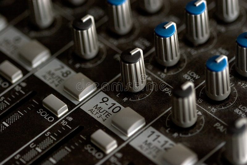 Download Mixing board stock photo. Image of sliders, board, electronics - 501532