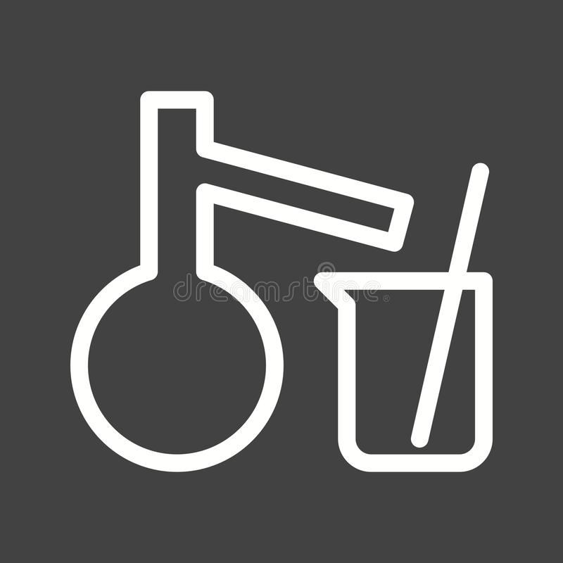 Mixing Chemicals I vector illustration