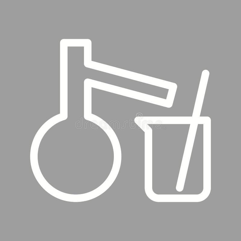 Mixing Chemicals I royalty free illustration