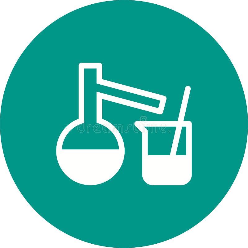 Mixing Chemicals I stock illustration