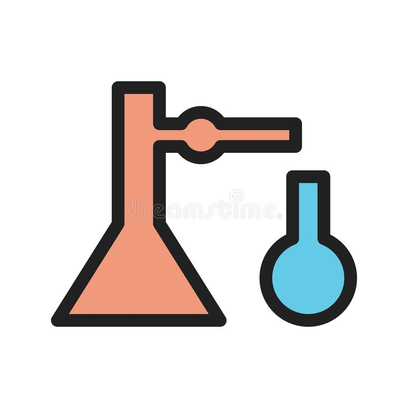 Mixing Chemicals II royalty free illustration