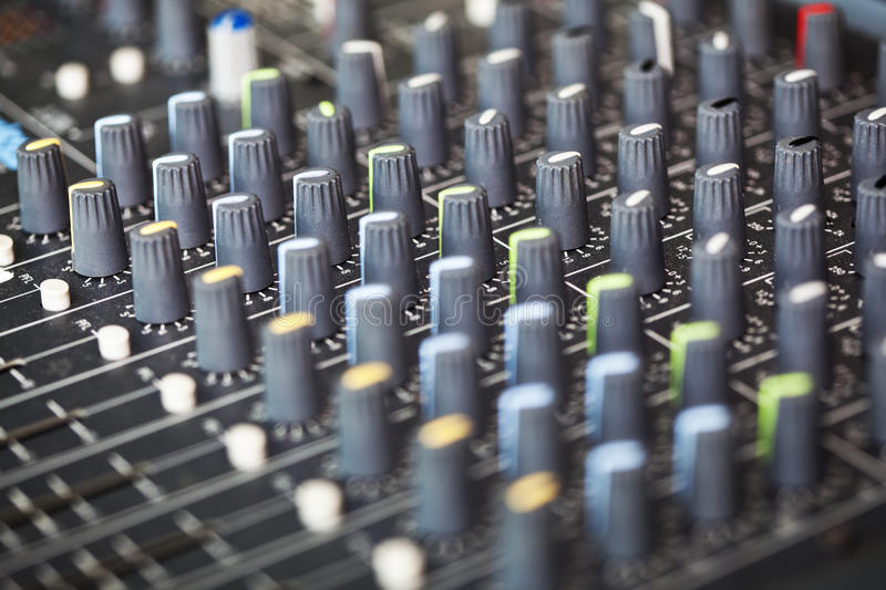 Download Mixing soundboard stock image. Image of professional - 36675607