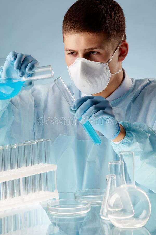 Download Mixing Substances Royalty Free Stock Photography - Image: 26278877